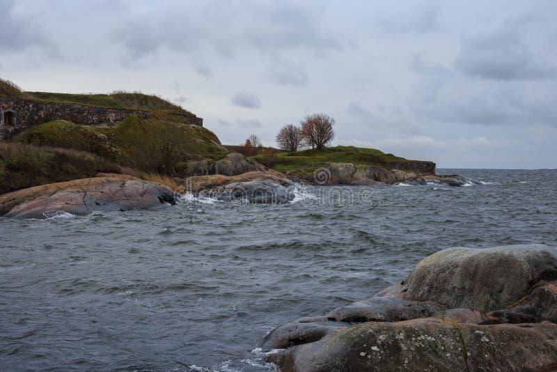 L'île de Helsinki photographie stock