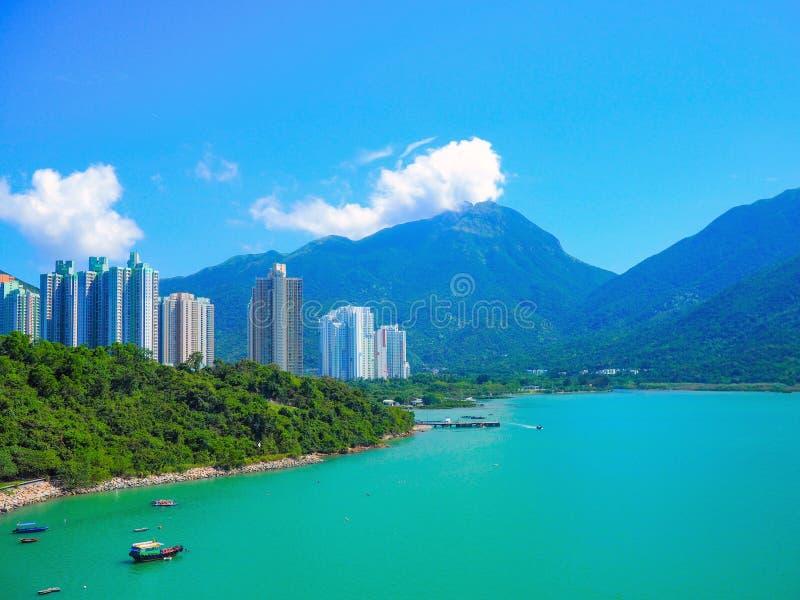L'île de Lantau, Hong Kong images stock