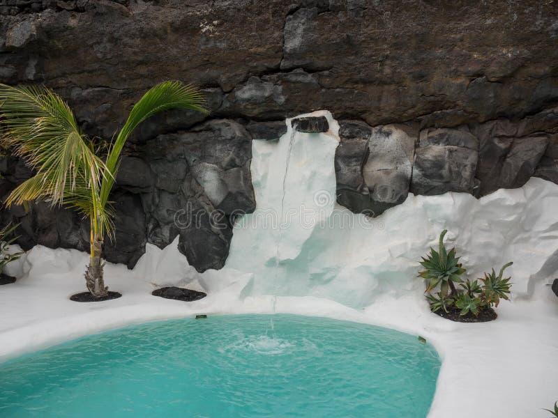 L'île de Lanzarote images stock