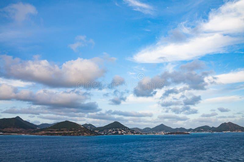 L'île de St Maartan photos libres de droits