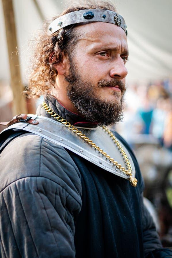 2018-10_06 L`Île Sur La Sorgue (France) ,Viking ou king athur, éditorial images libres de droits