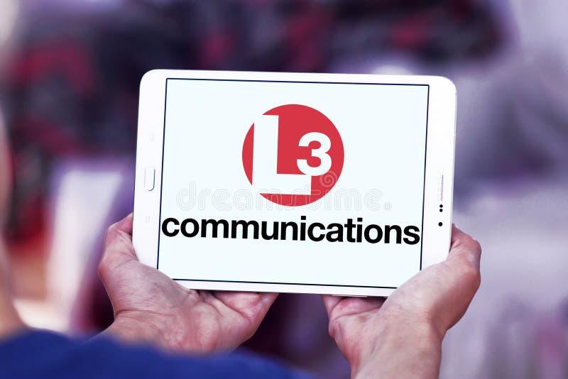 L3 λογότυπο επικοινωνιών στοκ φωτογραφία με δικαίωμα ελεύθερης χρήσης