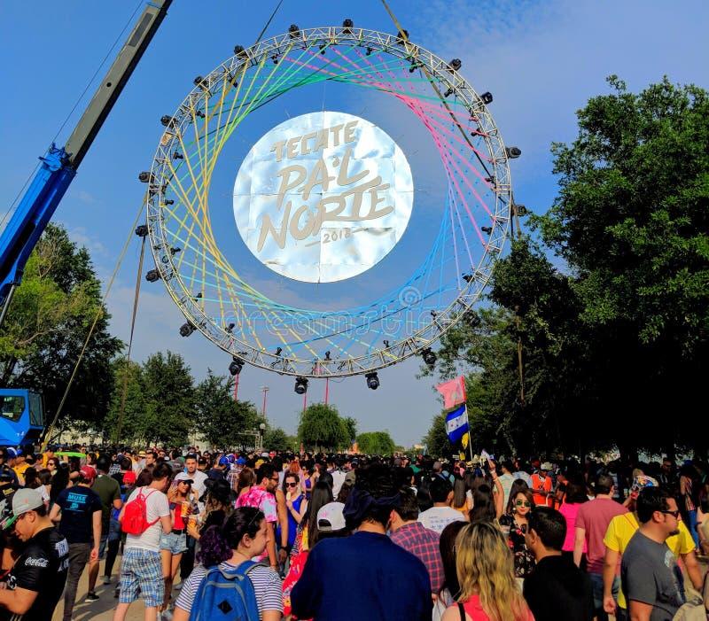 ` L фестиваль 2018 PA Norte стоковые фотографии rf