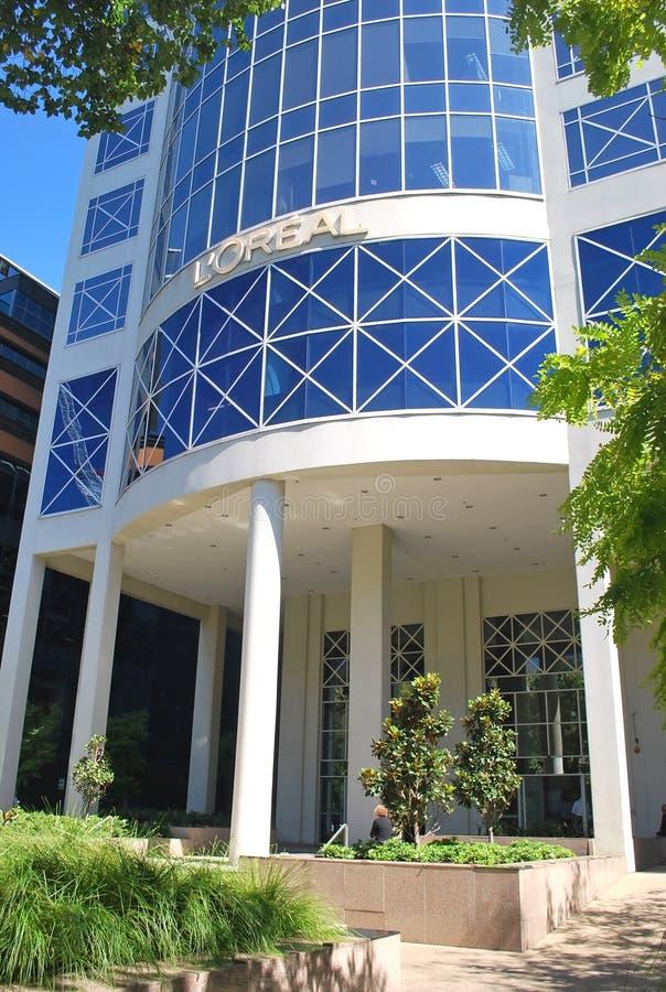 L штабы Oreal Парижа ` в Мельбурне стоковые изображения