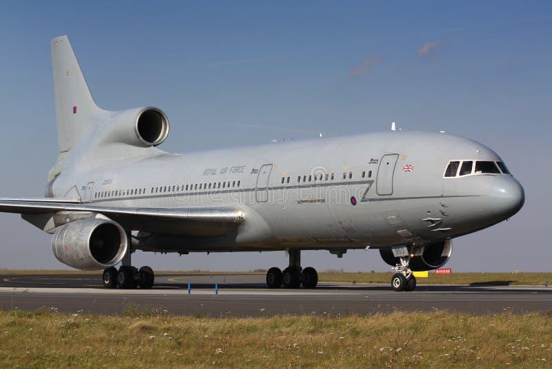 L-1011皇家空军 免版税库存照片