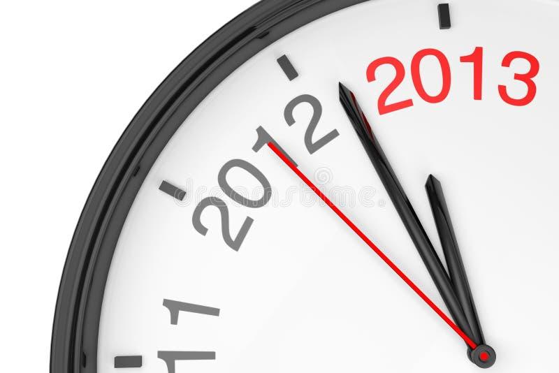 L'an 2013 s'approche illustration de vecteur