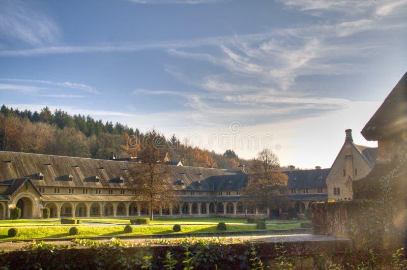 L'abbaye d'Orval en Belgique photo stock