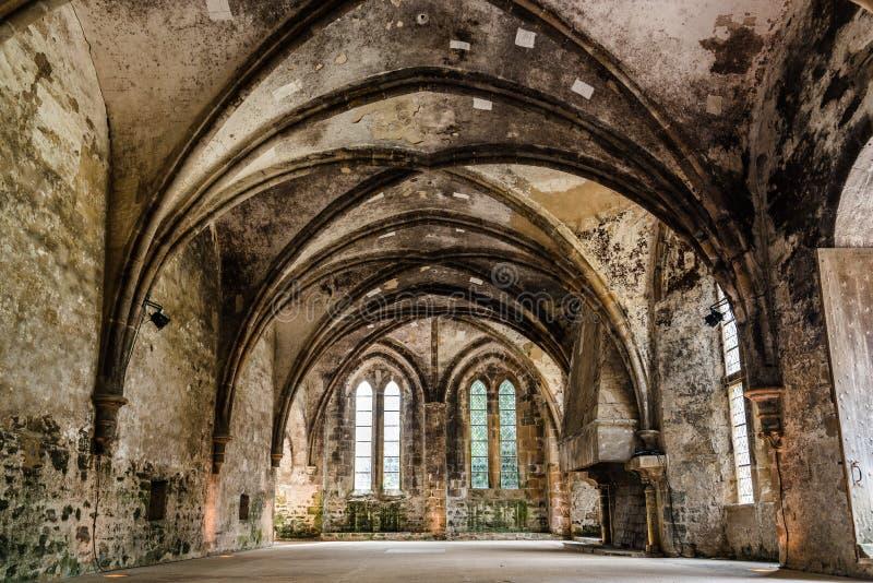 L'abbaye de Beauport en Bretagne fran?aise photographie stock libre de droits