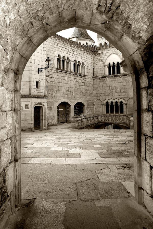 L'abbaye de Rocamadour photo stock