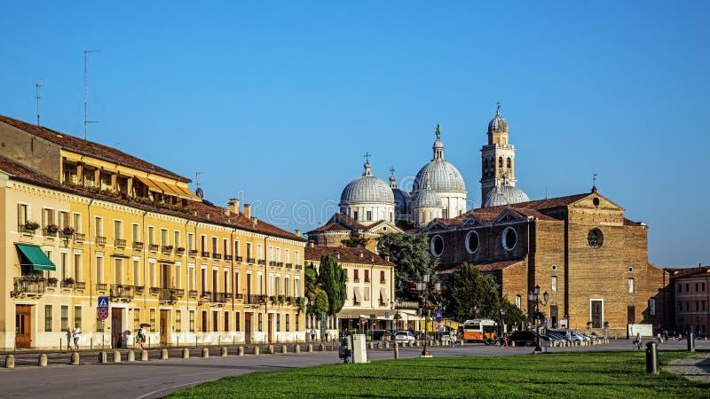 L'abbaye de Santa Giustina photos libres de droits