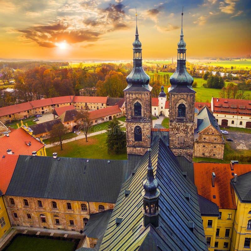 L'abbaye de Tepla photo stock