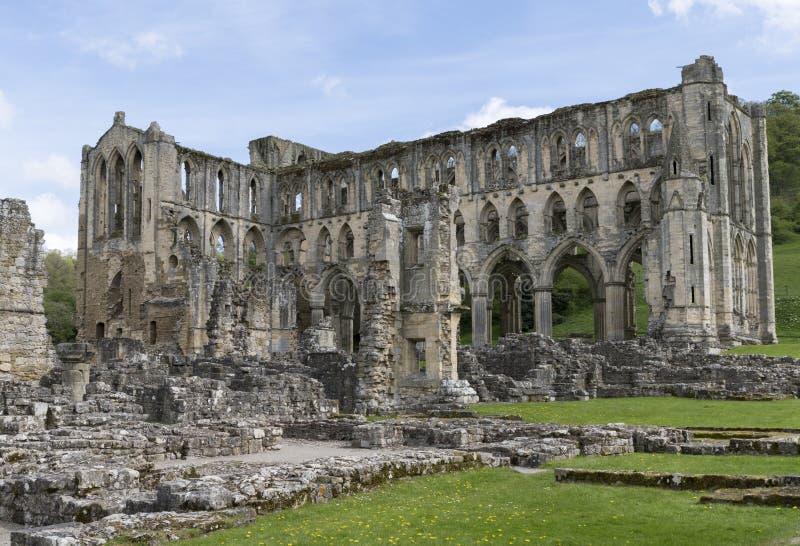 L'abbazia di Rievaulx, North Yorkshire attracca, North Yorkshire, Inghilterra fotografie stock libere da diritti