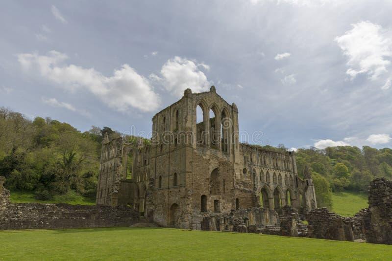 L'abbazia di Rievaulx, North Yorkshire attracca, North Yorkshire, Inghilterra immagine stock libera da diritti