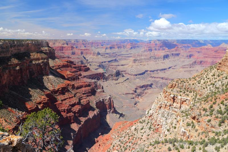 L'abisso, Grand Canyon fotografie stock libere da diritti
