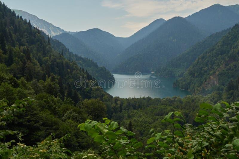 L'Abkhazie Été de Riza de lac Gornoe photo stock