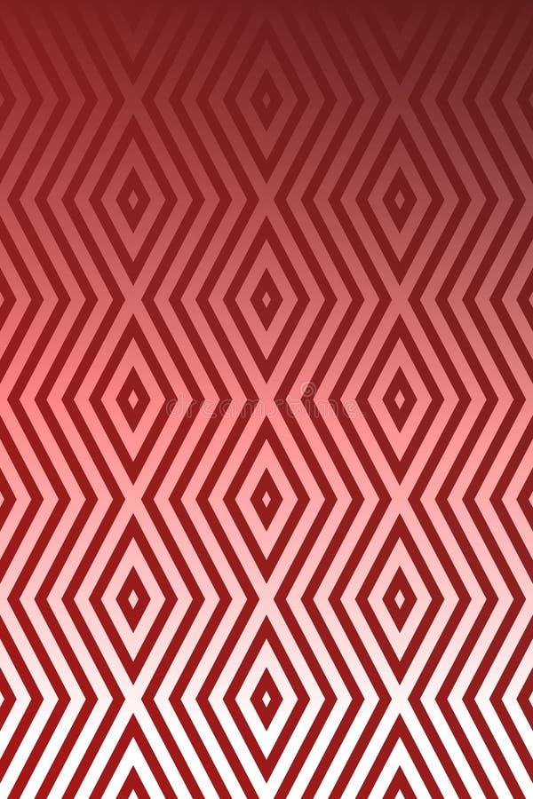 L'abrégé sur sans couture couleur rouge donne au fond une consistance rugueuse illustration stock