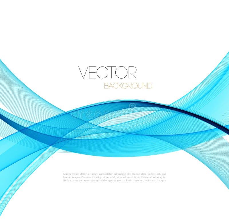 L'abstrait incurvé raye le fond descripteur illustration de vecteur