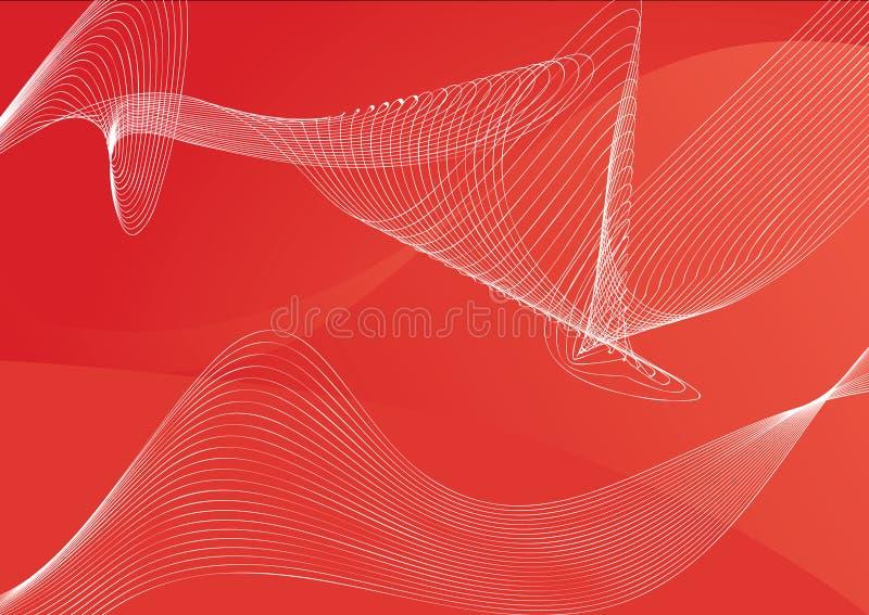 L'abstrait raye le fond illustration de vecteur
