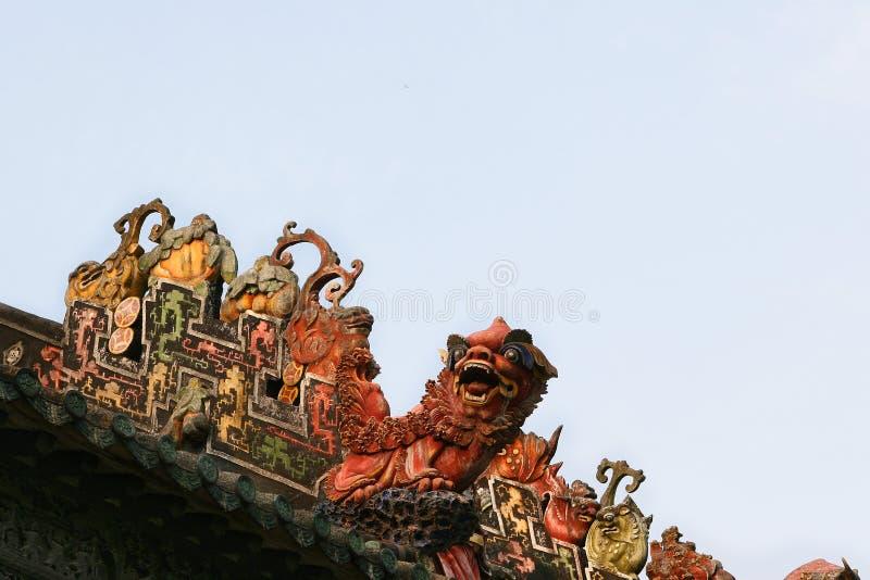 Accademia del clan di Chen fotografia stock