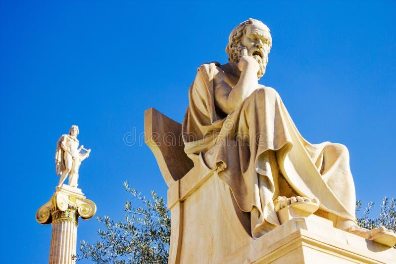 L'accademia di Atene a Atene, Grecia fotografia stock libera da diritti