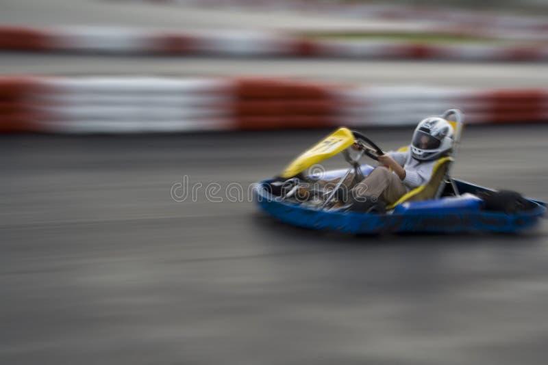 L'accelerazione va Kart fotografia stock libera da diritti