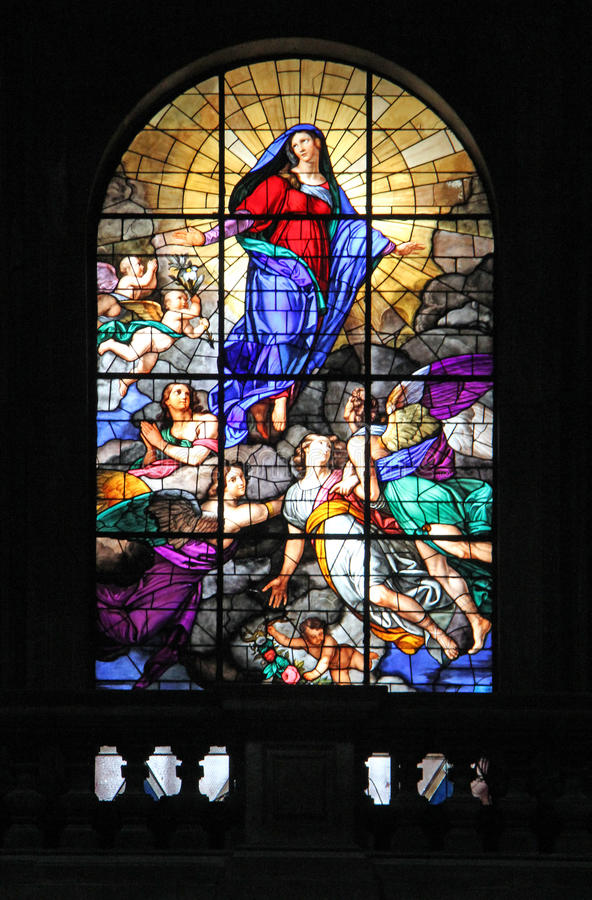L'acceptation de Mary photo libre de droits