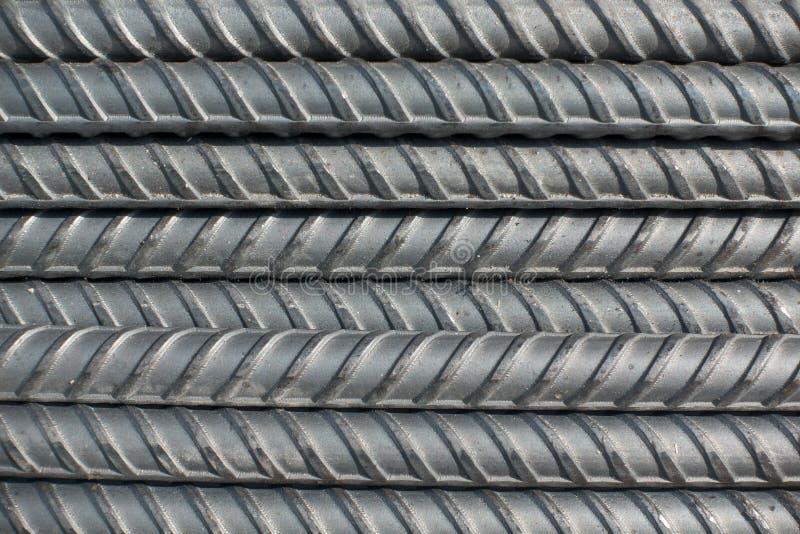 L'acier déforment des barres photographie stock
