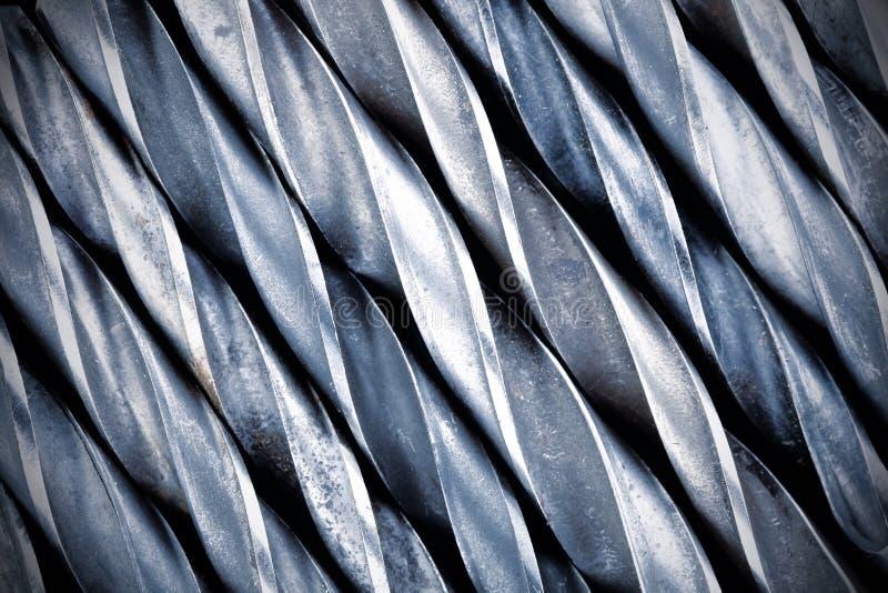 L'acier fore ensemble pour le fond photo libre de droits