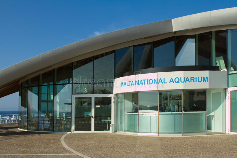L'acquario del cittadino di Malta fotografia stock