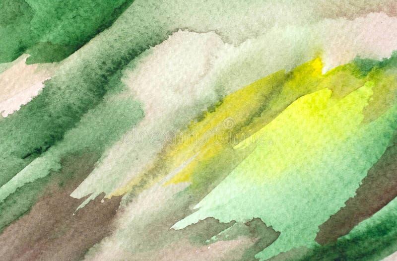 L'acquerello astratto macchia il fondo di lerciume fotografie stock libere da diritti