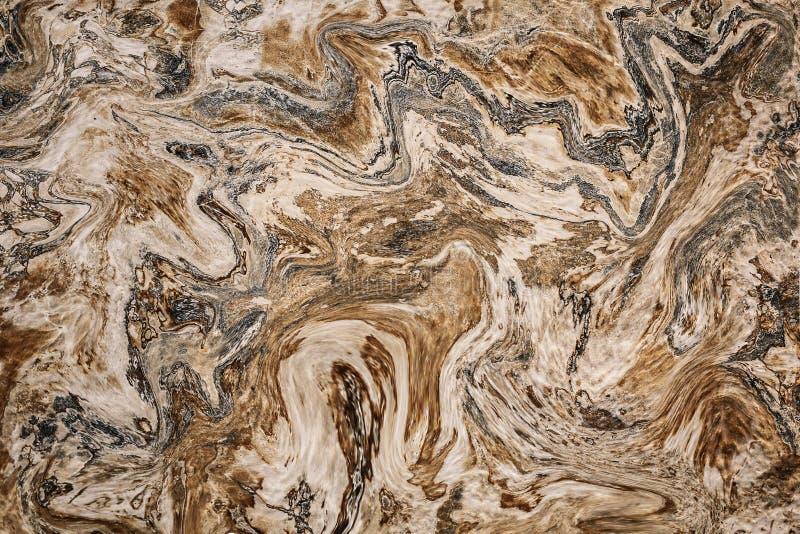 L'acrilico astratto di struttura dell'inchiostro del marmo del modello di onda dipinto ondeggia il fondo di struttura royalty illustrazione gratis