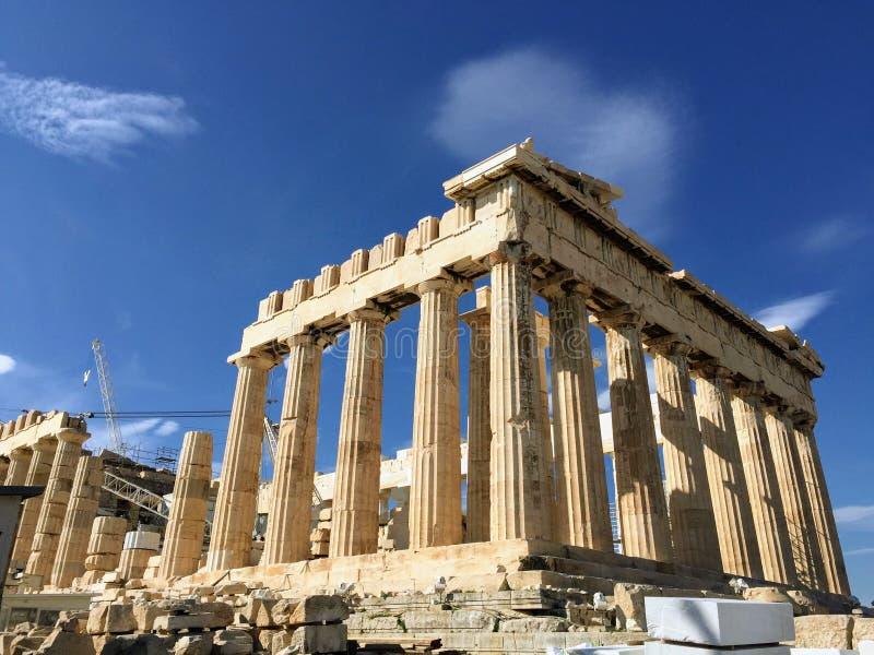L'Acropole d'Athènes, Grèce photo libre de droits