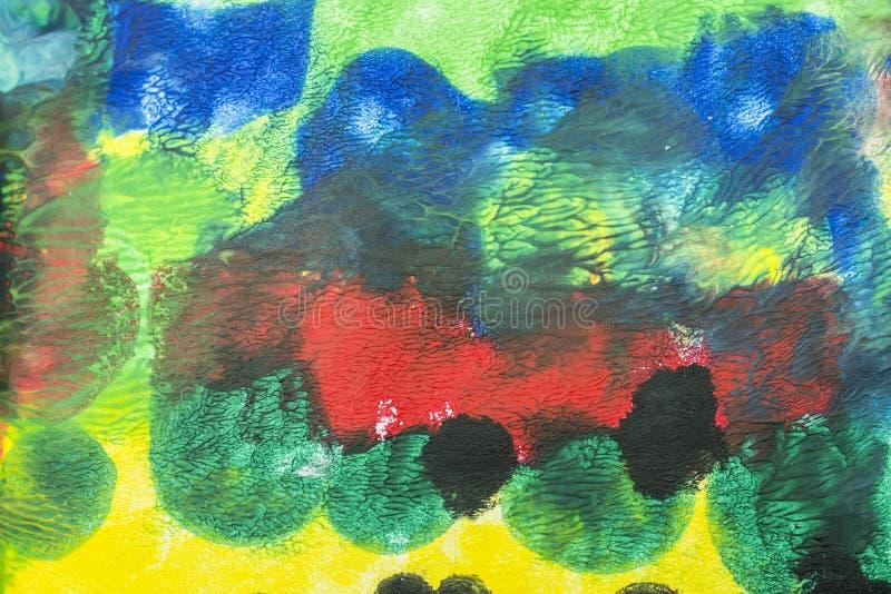 L'acrylique colore le fond photo libre de droits
