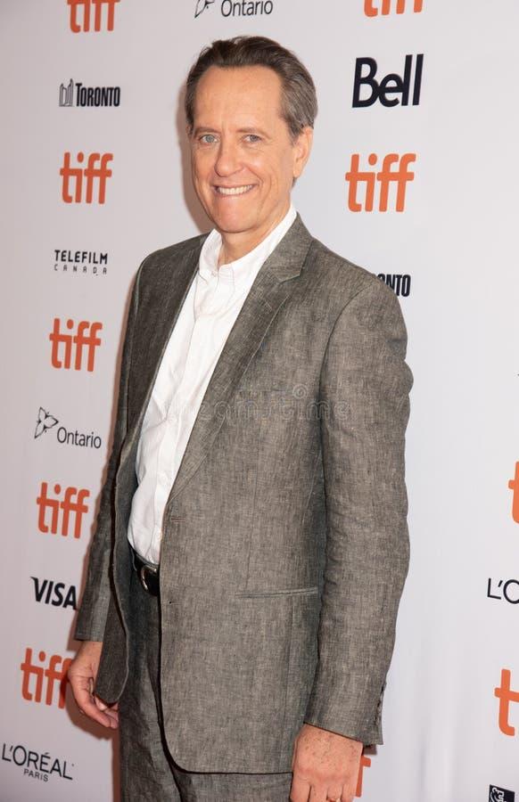 L'acteur Richard E Grant au au pouvoir vous jamais me pardonner la première TIFF2018 images stock