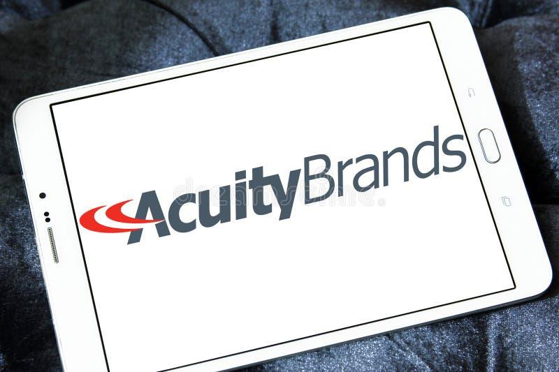 L'acuité stigmatise le logo image libre de droits