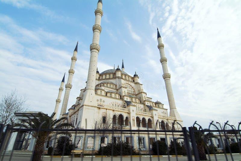 L'Adana Turchia - moschea di Sabancı Merkez immagine stock