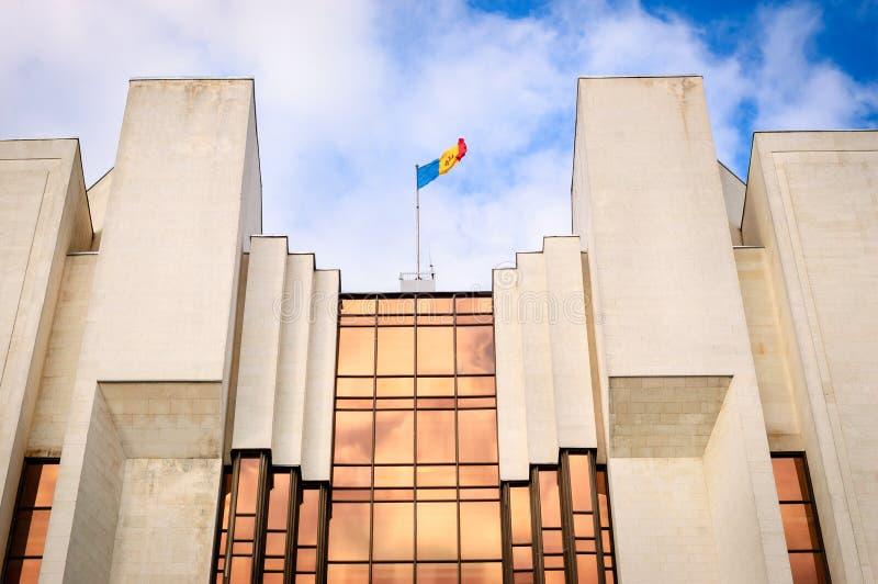 L'administration du président, Chisinau Moldau photographie stock