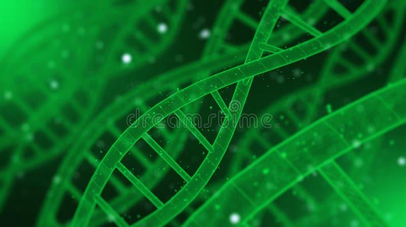 L'ADN rendent le fond photos stock