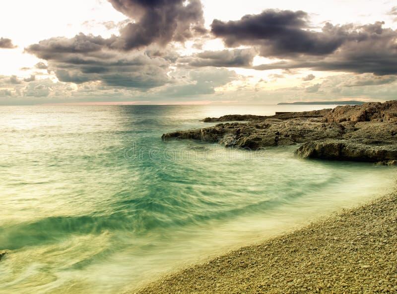 L'Adriatique colorée images stock
