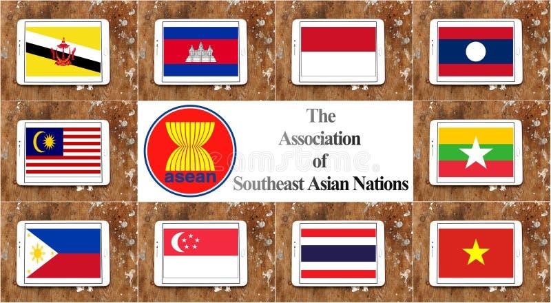 L'AEC de la communauté économique d'ASEAN illustration stock