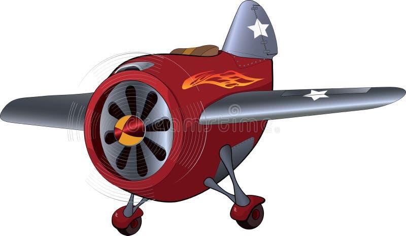 L'aereo del giocattolo royalty illustrazione gratis