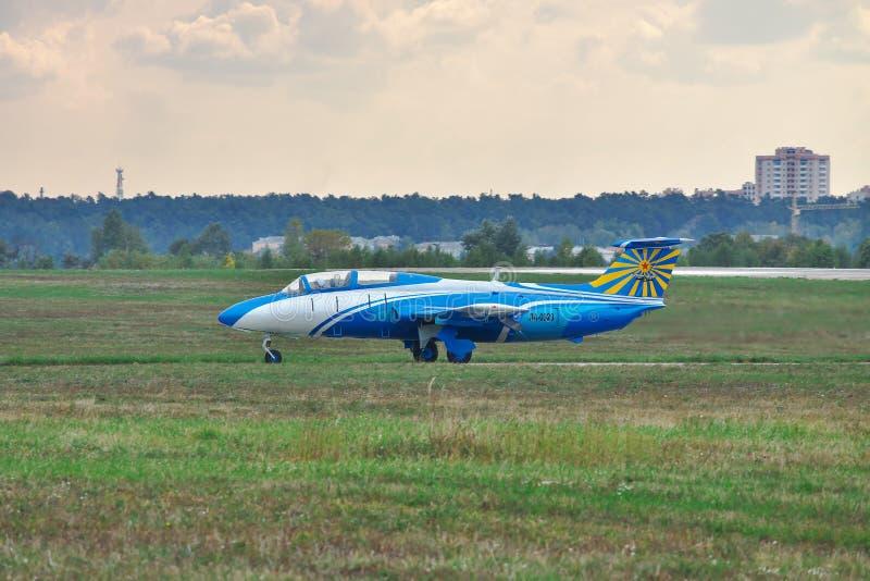 L-29 aereo Delfin fotografie stock libere da diritti