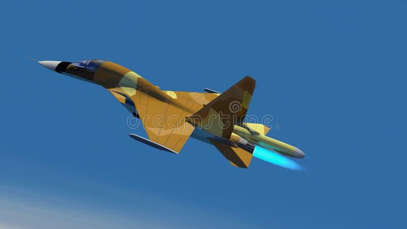L'aereo militare russo s-34 illustrazione di stock