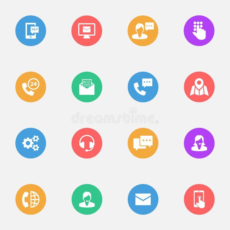 L'affare di comunicazione, consiglio, vector la migliore icona piana illustrazione di stock