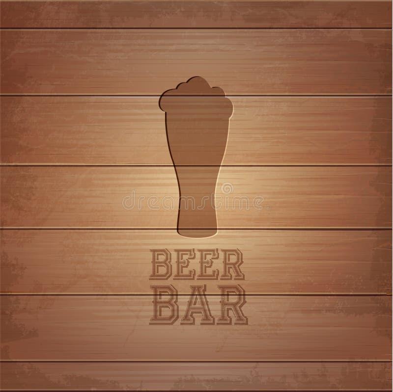 L'affiche octoberfest de bière illustration libre de droits