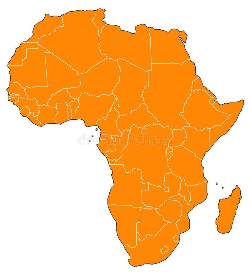 L'Africa royalty illustrazione gratis