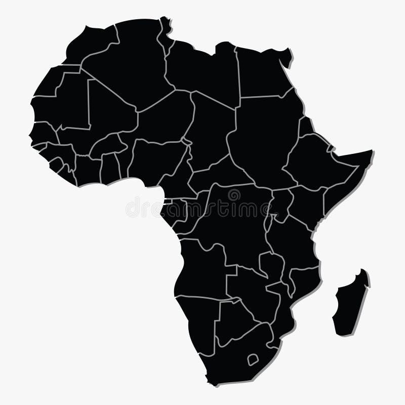 l'Afrique illustration de vecteur