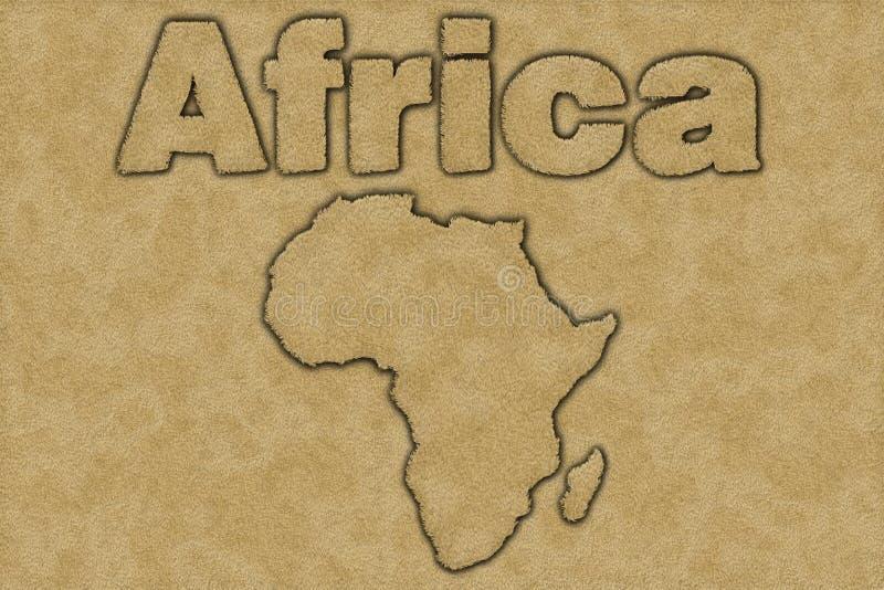 l'Afrique illustration libre de droits