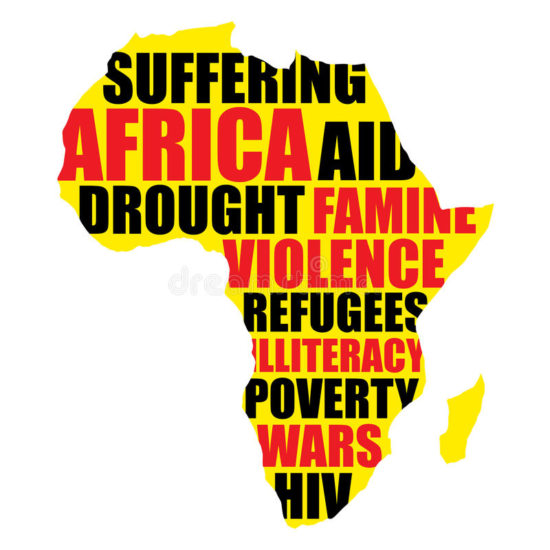 l'Afrique illustration stock