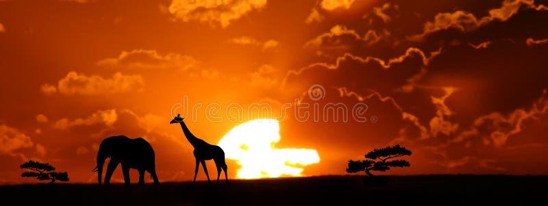 L Afrique Photo libre de droits